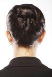 Stylish hairstyle Stock Images