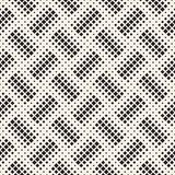 Stylish halftone texture. Endless abstract background with random size shapes. Vector seamless mosaic pattern. Stylish halftone texture. Endless abstract stock illustration