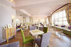 Stylish hall in cafe Anderson Royalty Free Stock Image