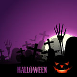 Stylish halloween design Royalty Free Stock Image