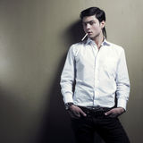 Stylish handsome men Stock Photo
