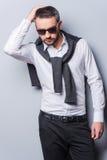 Stylish handsome. Stock Photography