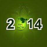 Stylish happy new year celebration holiday colorfu. L card  illustration Stock Images