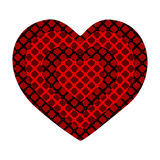 stylish heart Stock Image