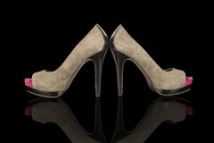Stylish High Heels. Royalty Free Stock Photos