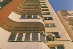 Stylish high-rise building royalty free stock photos