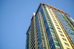 Stylish high-rise House stock image