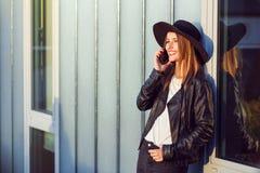The Phone Talk Royalty Free Stock Photo