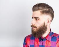 Stylish hipster guy Stock Images