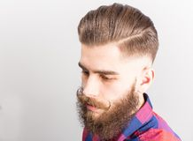 Stylish hipster guy Stock Image