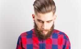 Stylish hipster guy Royalty Free Stock Photos