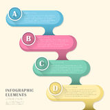 Stylish and hipster's people infographic elements Royalty Free Stock Images