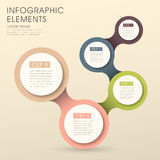 Stylish and hipster's people infographic elements Stock Photo