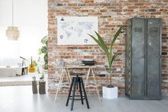 Stylish home office Stock Images