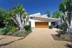 Stylish house front Stock Image