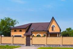 Stylish house Royalty Free Stock Images