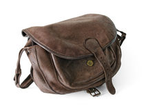 Stylish hunter bag Royalty Free Stock Photo