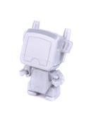 Stylish illuminated robotic toy. Stock Photos