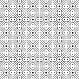 Stylish Illusion Black And White Geometric Graphic Pattern Stock Photo