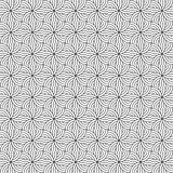 Stylish Illusion Black And White Monochrome Geometric Graphic Pattern Royalty Free Stock Photos