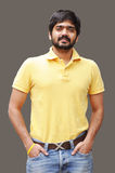 Stylish Indian Guy. A stylish indian guy in casual clothing Stock Images