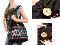 Stylish Indian Handbag Stock Photo