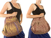 Stylish Indian Handbag Royalty Free Stock Photography
