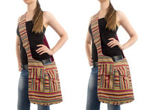Stylish Indian Handbag Royalty Free Stock Images