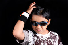 Stylish Indian Kid Royalty Free Stock Photos
