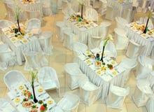Stylish interior of expensive restoraunt Stock Photography