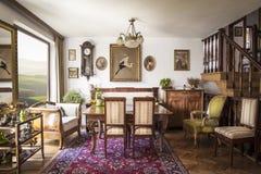 Stylish italian interior Royalty Free Stock Photography