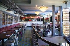 Stylish Italian restaurant Royalty Free Stock Image