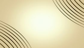 Free Stylish Ivory Tan Bronze Abstract Curves Wallpaper Frame Background With Copy Space. Stock Image - 163693161