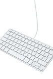 Stylish keyboard Stock Photography