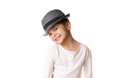 Stylish kid Royalty Free Stock Photos