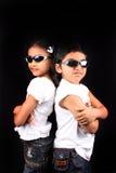 Stylish Kids Royalty Free Stock Photos