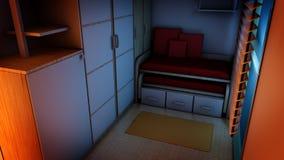 Stylish Kids Bedroom Stock Photos