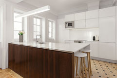 Stylish kitchen Royalty Free Stock Image