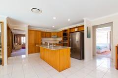 Stylish kitchen interior Stock Image
