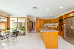 Stylish kitchen interior Stock Photo