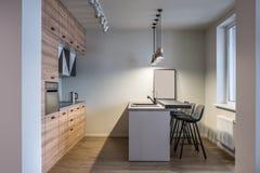 Stylish kitchen in modern style Stock Photo