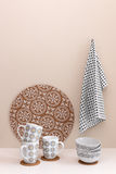 Stylish kitchen utensils Stock Photography