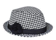 Stylish lady female hat isolated. Stock Photo