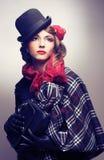 Stylish lady. Stock Images