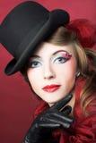 Stylish lady. Royalty Free Stock Photo