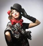 Stylish lady. Royalty Free Stock Photography