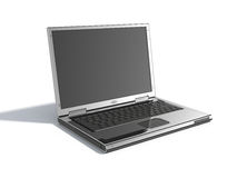 Stylish laptop Stock Images