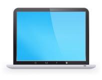 Stylish Laptop Royalty Free Stock Photography