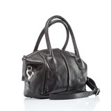 Stylish leather female handbag Royalty Free Stock Photography