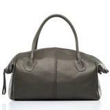 Stylish leather female handbag Stock Images